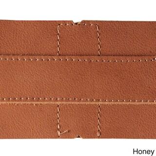 Piel Leather Medium Buckle Flap Backpack