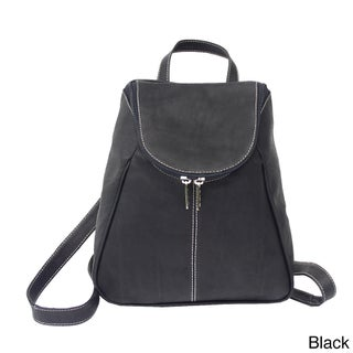 Piel Leather U-Zip Backpack (4 options available)
