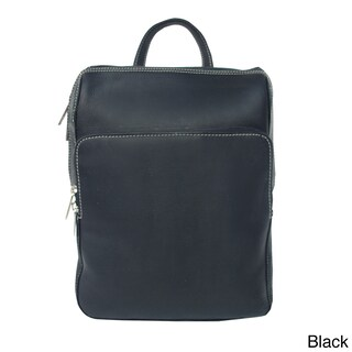 Piel Leather Slim Front Pocket Backpack (4 options available)