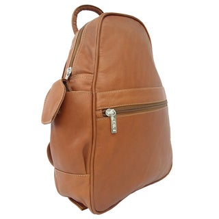 Piel Leather Tri-Shaped Sling Backpack