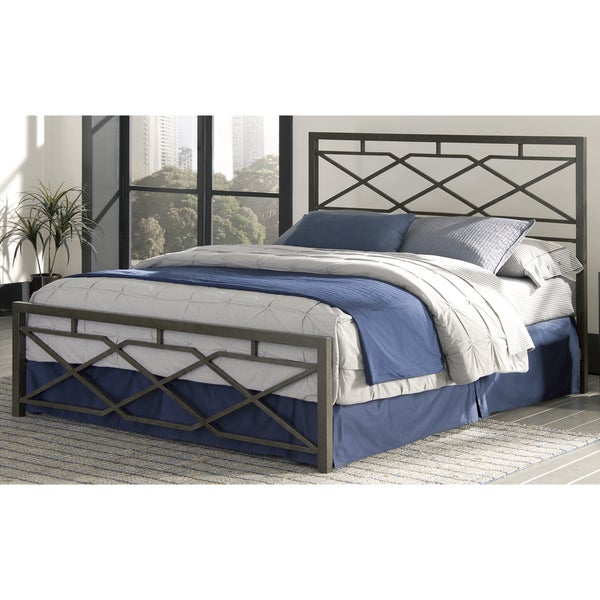 Alpine Snap Bed with Geometric Panel Design and Folding ...