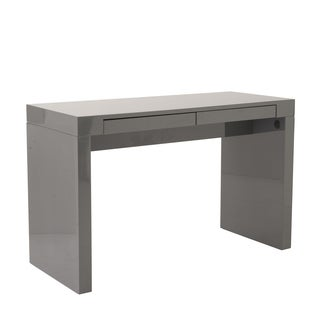 Donald Desk - Gray Lacquer