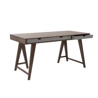 Walnut/Gray Daniel Desk