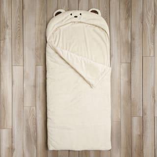 Aurora Home Bear Plush Faux Fur Slumber Bag|https://ak1.ostkcdn.com/images/products/10995701/P18015660.jpg?impolicy=medium