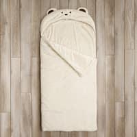 Aurora Home Bear Plush Faux Fur Slumber Bag