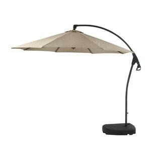 Benzara Classic Metal PE Outdoor Umbrella