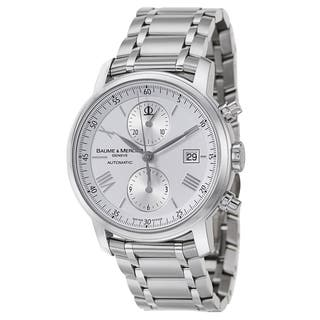 Baume & Mercier Men's MOA08732 Stainless Steel Watch|https://ak1.ostkcdn.com/images/products/10995765/P18015708.jpg?impolicy=medium
