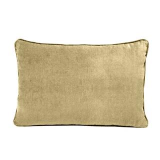 Grand Luxe Cotton Velvet Soft Luxury Throw Pillow Separates
