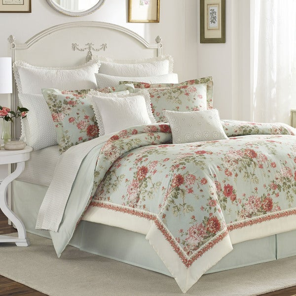 Laura Ashley Vivienne 4-piece Comforter Set