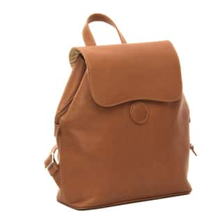 Piel Leather Flap Over On Backpack