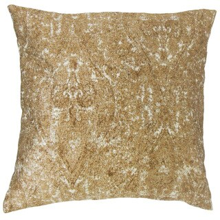 Derica Paisley Down and Feather Filled 18-inch Throw Pillow
