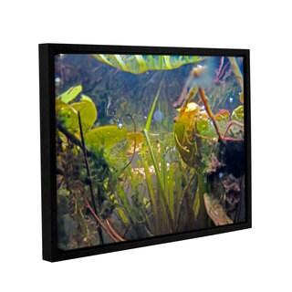 ArtWall Ed Shrider's Lake Hope UW #6, Gallery Wrapped Floater-framed Canvas