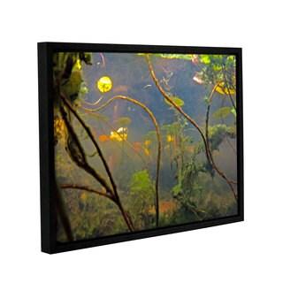 ArtWall Ed Shrider's Lake Hope UW #4, Gallery Wrapped Floater-framed Canvas