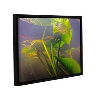 ArtWall Ed Shrider's Lake Hope UW #3, Gallery Wrapped Floater-framed Canvas
