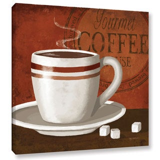 ArtWall Kathy Middlebrook's Gourmet Coffee, Gallery Wrapped Canvas