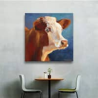 ArtWall Cheri Wollenberg's Heidi, Gallery Wrapped Canvas