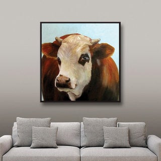 ArtWall Cheri Wollenberg's Daisie, Gallery Wrapped Canvas