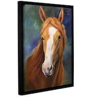 ArtWall Cheri Wollenberg's Blaze, Gallery Wrapped Floater-framed Canvas