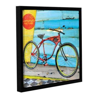 ArtWall Danny Phillips's Cruise Control, Gallery Wrapped Floater-framed Canvas