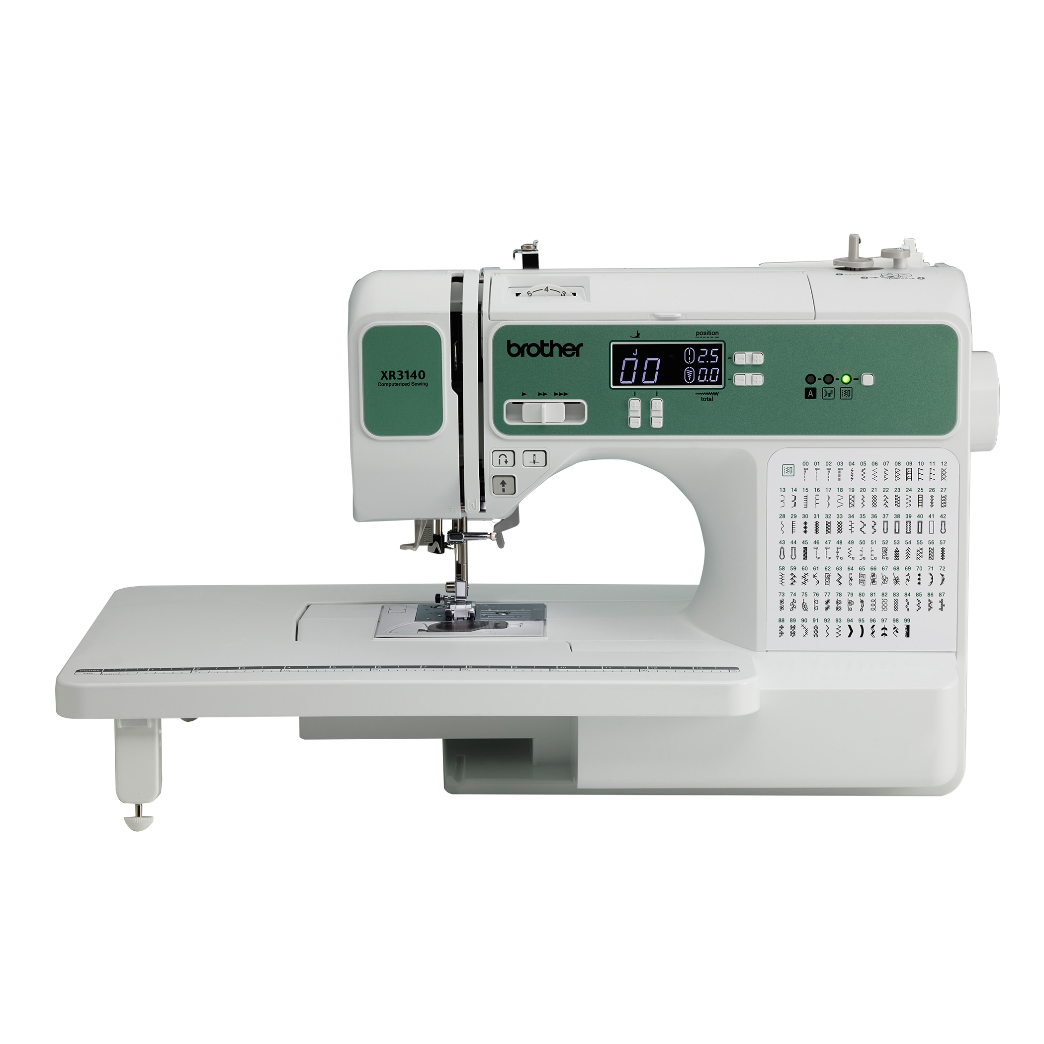 Brother Xr 3140 Computerized Sewing Machine & Daisy Wheel...