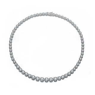 Collette Z Sterling Silver Classic Chain Design Necklace