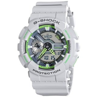 Casio G-Shock Men's GA110TS-8A3CR Analog-Digital Dial Matte Grey Resin Watch