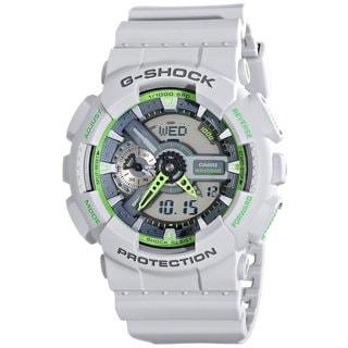 Casio G-Shock Men's GA110TS-8A3CR Analog-Digital Dial Matte Grey Resin Watch