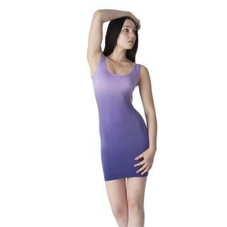 Soho Junior Ladies Dip Dye Mini Tank Dress