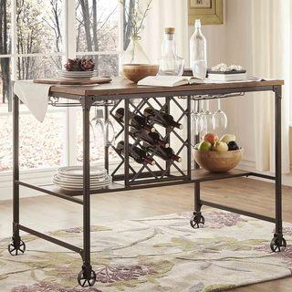 Berwick Iron Buffet with Wine Storage by iNSPIRE Q Classic