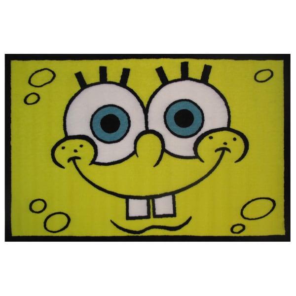 Shop Spongebob Head Area Rug Free Shipping On Orders Over 45