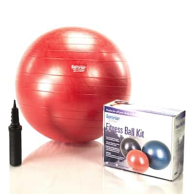 Aeromat Burst-Resistant Fitness Ball Kit