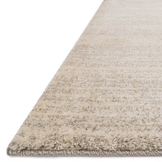 Abstract Modern Beige/ Grey Rug - 9'2 x 12'7