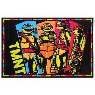 """Teenage Mutant Ninja Turtles Area Rug 19"""" x 29"""""""