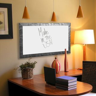 American Made Rayne Safari Silver Dry Erase Board (More options available)