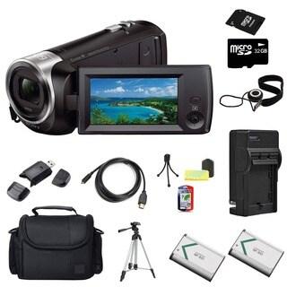 Sony HDR-CX240 Camcorder Black 32GB Bundle https://ak1.ostkcdn.com/images/products/10996685/P18016432.jpg?_ostk_perf_=percv&impolicy=medium