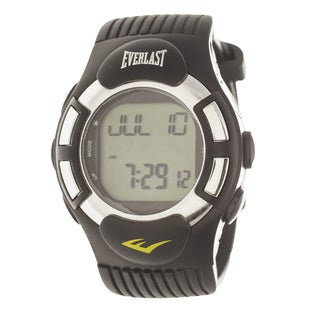 Everlast HR1 Finger Touch Heart Rate Monitor Black Bezel Sport Digital Watch