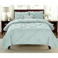 Laurel Creek Audrey 3-piece Pintuck Comforter Set