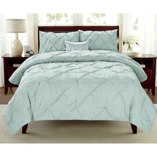 Premium Collection Pintuck 3-piece Comforter Set