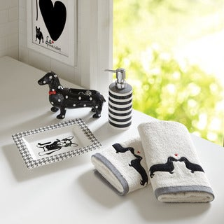 HipStyle Hannah 5-Piece Bath Accessory Set