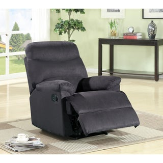 Tennie Contemporary Microfiber Recliner (3 options available)