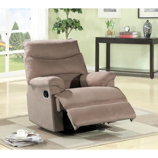 Tennie Contemporary Microfiber Recliner