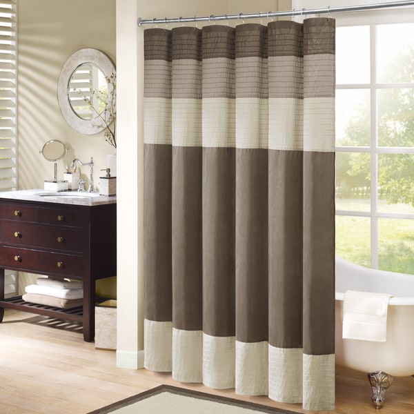 madison park eastridge polyester shower curtain--54x78 - free