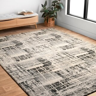 Brently Grey/ Multi Rug (3'10 x 5'7)