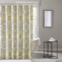 Madison Park Essentials Odisha Printed Shower Curtain--3 Color Options