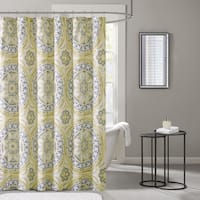 The Curated Nomad Lyon Printed Shower Curtain