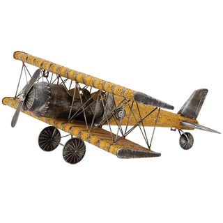 Handmade Metal Model Replica Airplane Decor