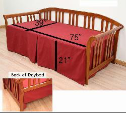 Bombay Twin-size Daybed Cover - Thumbnail 2