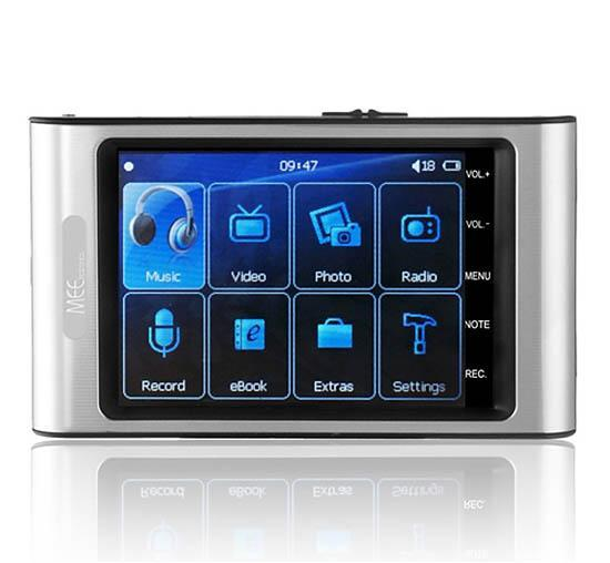 MEElectronics GrooveMee II 4G Touch Screen Media Player