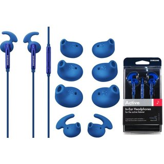 Samsung Active In-Ear Headset - Retail Packing - Blue