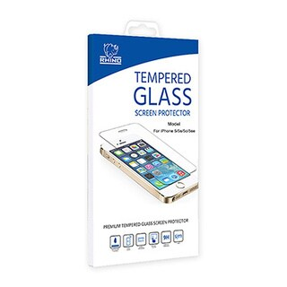 Rhino Apple iPhone 5 5C 5S Tempered Glass Screen Protector